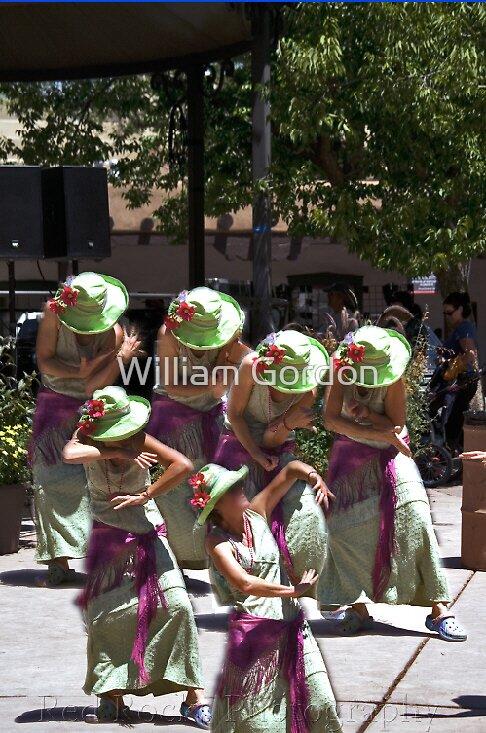 Santa Fe - Plaza Dancer by William Gordon