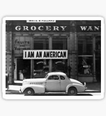 I Am An American - After Pearl Harbor - 1942 Sticker