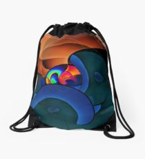 Meteor Shower Drawstring Bag