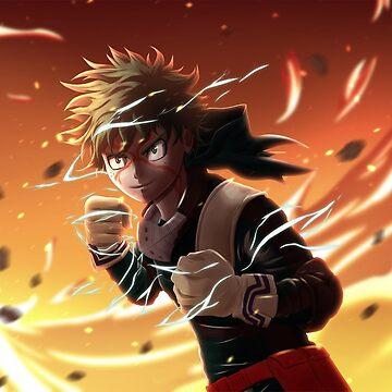 Boku no Hero Academia Midoriya by FrozenFox