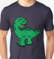 Green dino dinosaur Unisex T-Shirt