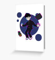 Floating Mob Greeting Card