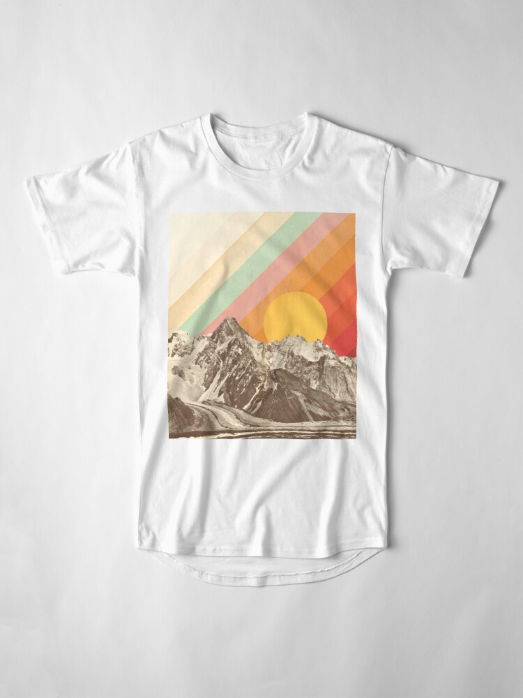 Alternate view of Mountainscape #1 Long T-Shirt