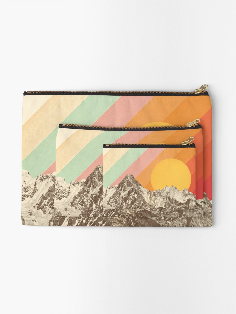 Alternate view of Mountainscape #1 Zipper Pouch