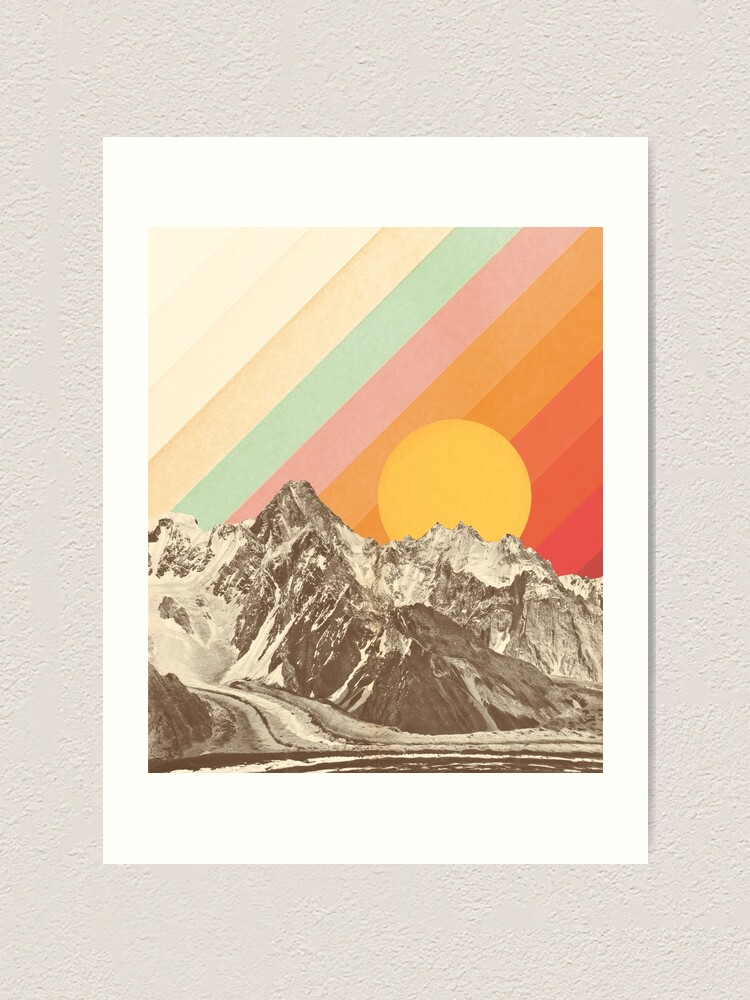 Alternate view of Mountainscape #1 Art Print