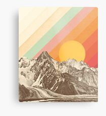 Mountainscape #1 Impression métallique