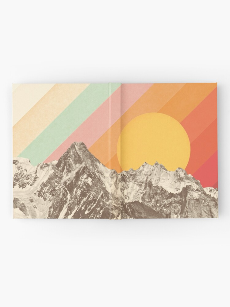 Alternate view of Mountainscape #1 Hardcover Journal