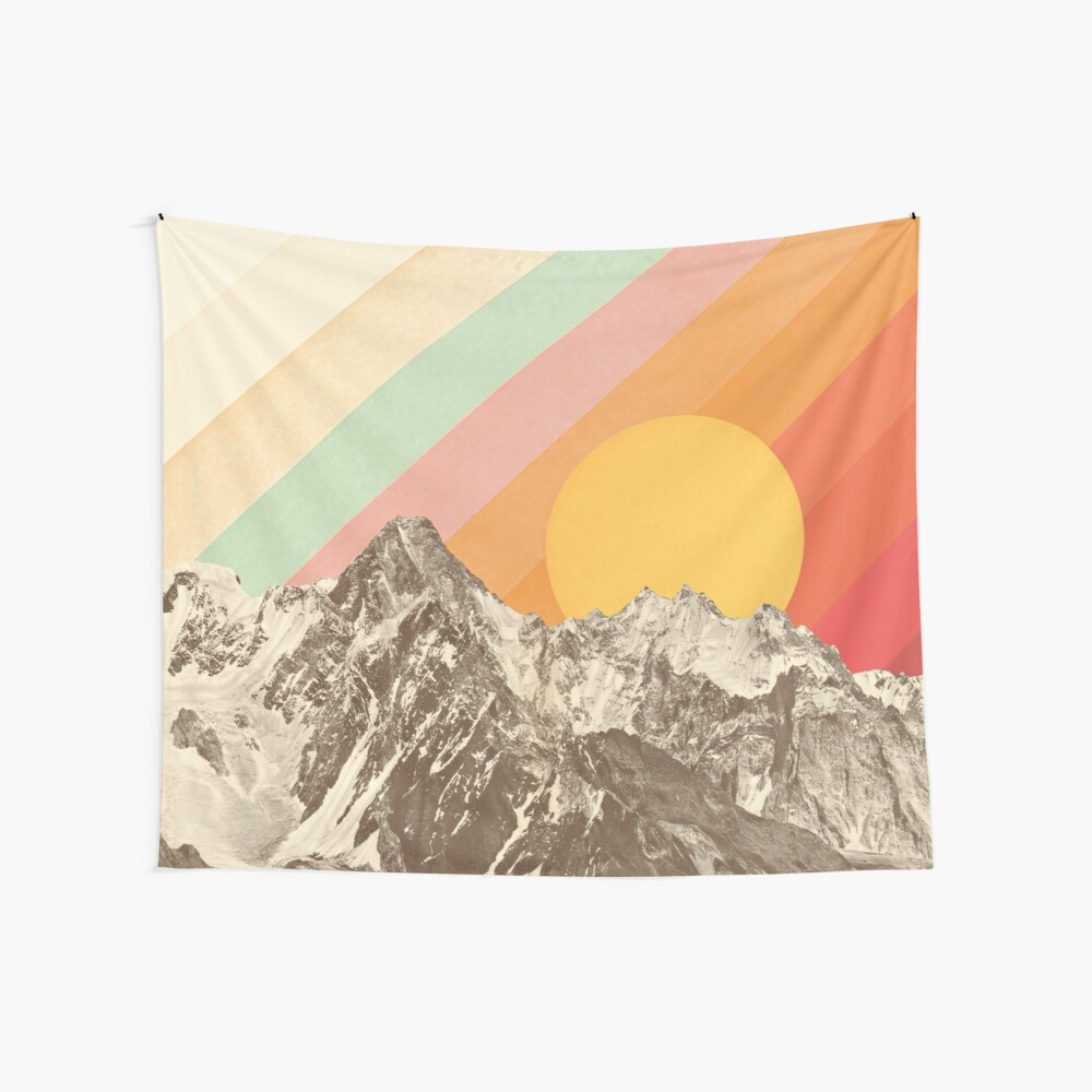 Mountainscape #1 Wall Tapestry