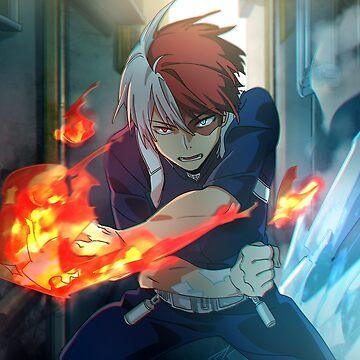 Boku no Hero Academia Todoroki by FrozenFox