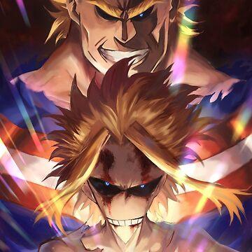 Boku no Hero Academia All Might by FrozenFox