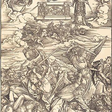 Albrecht Dürer or Durer The Four Avenging Angels by wetdryvac