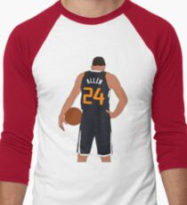 Grayson Allen Jazz Men s Baseball ¾ T-Shirt 748ad6863