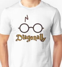 Diagonally Unisex T-Shirt