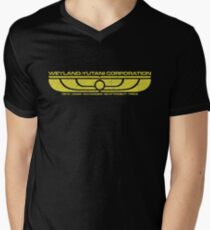 The Weyland-Yutani Corporation Wings Mens V-Neck T-Shirt