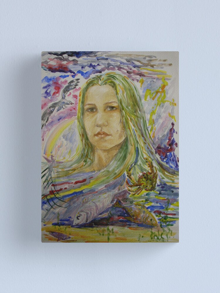Alternate view of Sea Inside Canvas Print