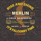 Merlin Falcon Apparel and Gear for Falconers who fly Merlins by Robert Diebold