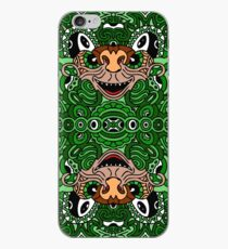 Digital doodle nineteen - Hidden color iPhone Case