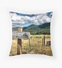 Rolling Thunder Throw Pillow