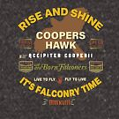 Coopers Hawk Apparel and Gear for Falconers who fly Coopers Hawks by Robert Diebold