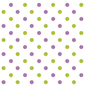 Purple and Green Polka Dots by Ange26