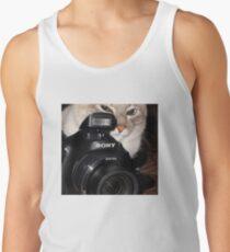 Camera Cat Tank Top