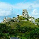 Corfe Castle, Dorset, England by LumixFZ28