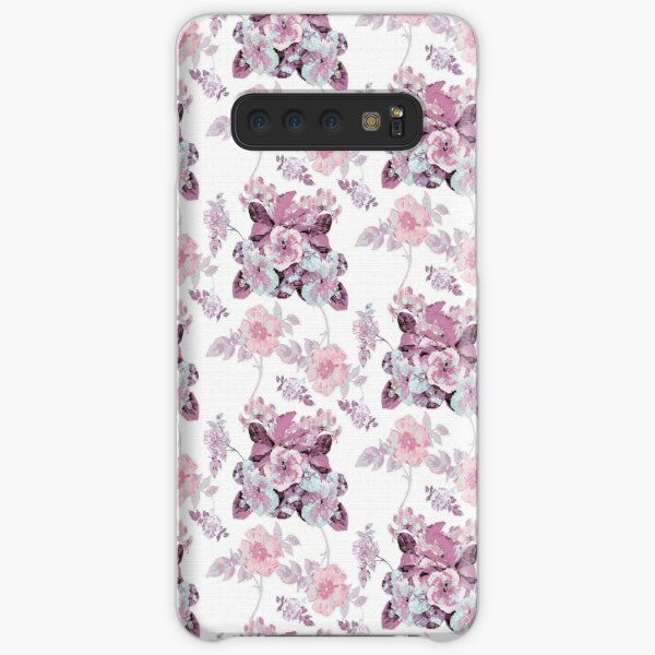 Botanical Toile Pink Samsung Galaxy Snap Case