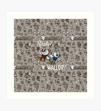 Ready? WALLOP! Art Print