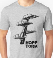 Hopptorn (Diving tower) * Black Print Unisex T-Shirt