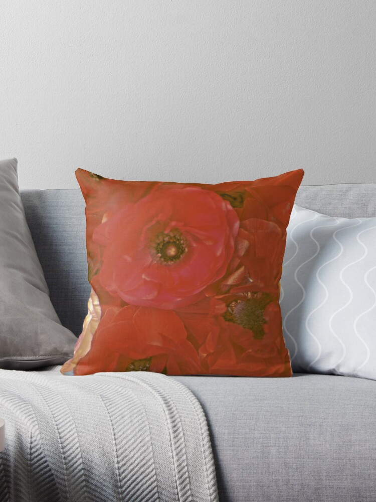 Red Luscious Ranunculus by Bloomin' Arty Fashion
