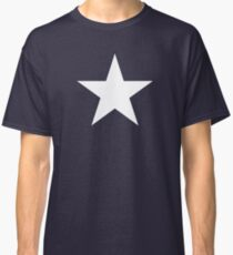 White Star Solid Classic T-Shirt