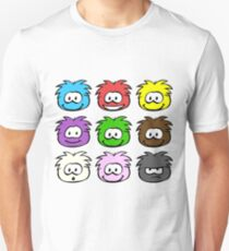 Club Penguin Oldschool Puffles Unisex T-Shirt