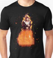 Man sixpack burning Unisex T-Shirt