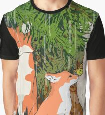 A quiet rainy day in the forest Graphic T-Shirt