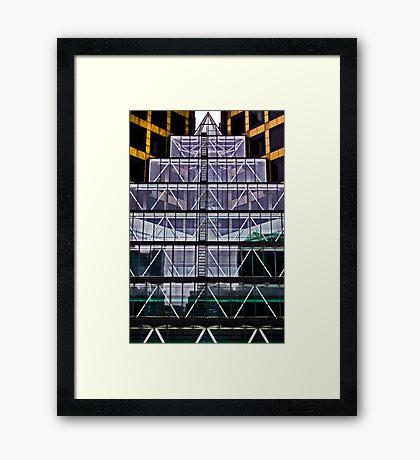 Urban Mayan Influance! Framed Print