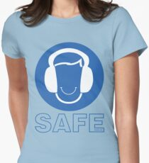 SAFE & SOUND Womens Fitted T-Shirt