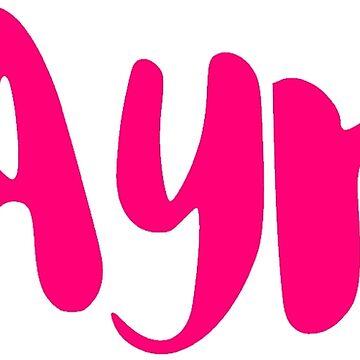 Ayr - Deep Pink by FTML