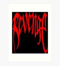 red revenge Art Print