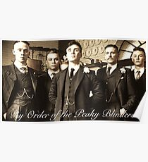 By order of the Peaky Blinders... Poster