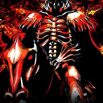 Skull Knight Monster by hustlart