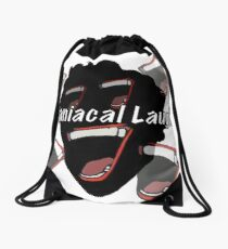 Maniacal Laugh Drawstring Bag