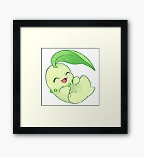 chikorita Framed Print