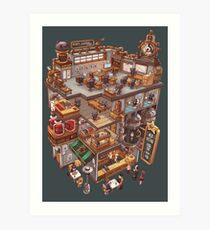 The Super-Concentrated Kopi Luwak Coffee Art Print