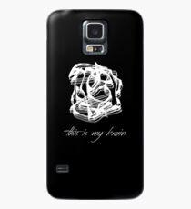 this is my brain shirt Case/Skin for Samsung Galaxy