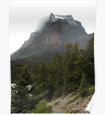 Going-to-the-Sun Mountain, Glacier National Park, Montana, USA Poster