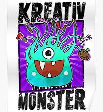 Creative Monster - Crazy Craft Fan Poster