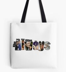 Castle Always Words Tote Bag