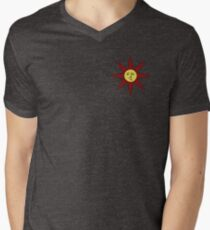 Solaire of Astora Sun Men's V-Neck T-Shirt