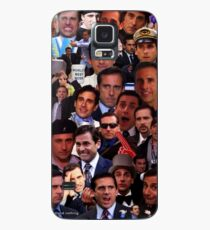 Funda/vinilo para Samsung Galaxy Michael Scott El collage de la oficina