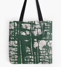NYC Walls (zelen) Tote Bag